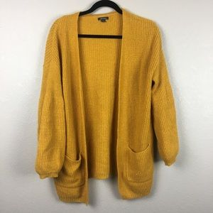 Wild fable mustard cardigan S